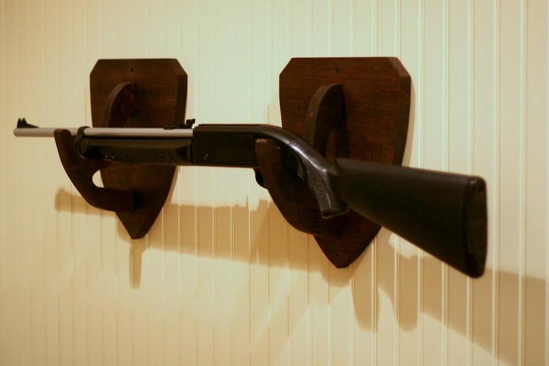 bb gun rack